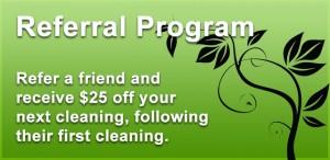 Seattle Green Cleaner Refferal Program
